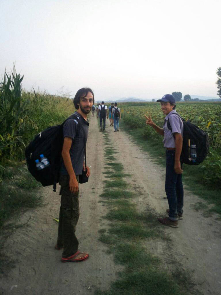 叙利亚厨师在前往瑞士的漫漫长路上路经马其顿。
