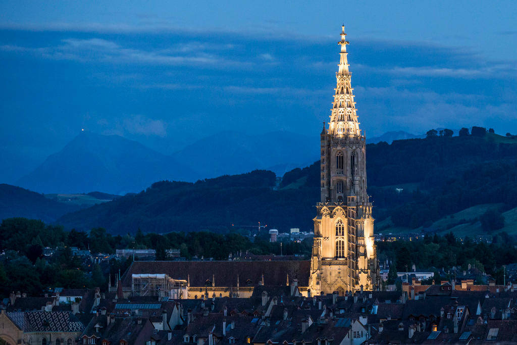Bern's Münster cathedral has been a place of Protestant worship since 1528. Today Bern is the only canton in which Protestants form an absolute majority