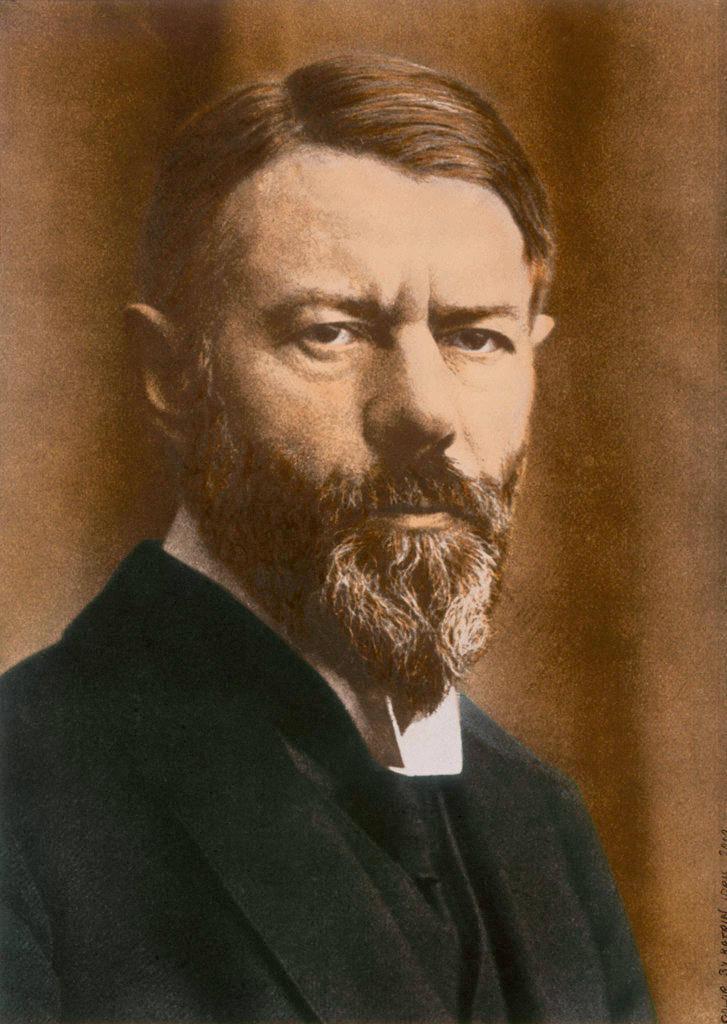 """حتى اليوم، لا زال كتاب """"الأخلاق البروتستانتية وروح الرأسمالية"""" المؤلّف الأكثر شهرة لعالم الإجتماع الألماني ماكس فيبر (1864-1920)."""