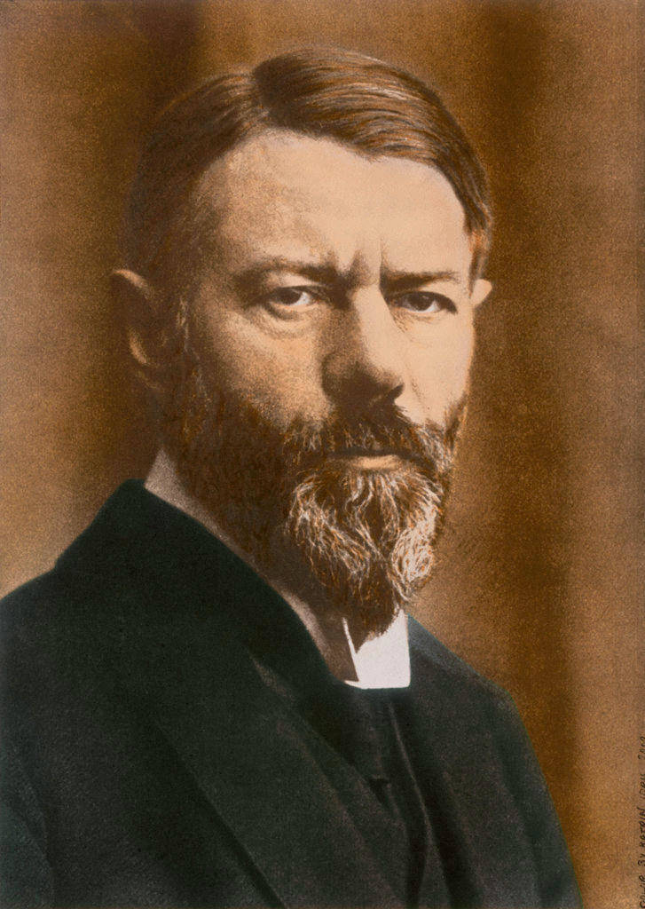 《新教伦理与资本主义精神》如今仍是德国社会学家马克斯·韦伯(1864-1920年)最出名的著作。(Keystone)