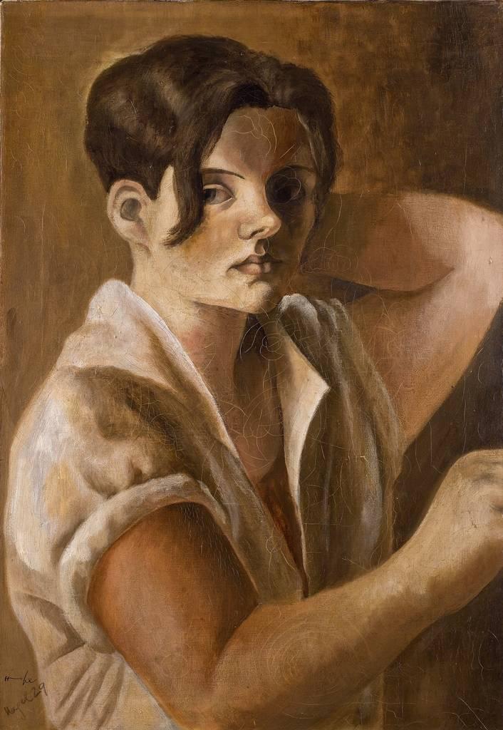 Hanna Nagel, Selbstbildnis, 1929