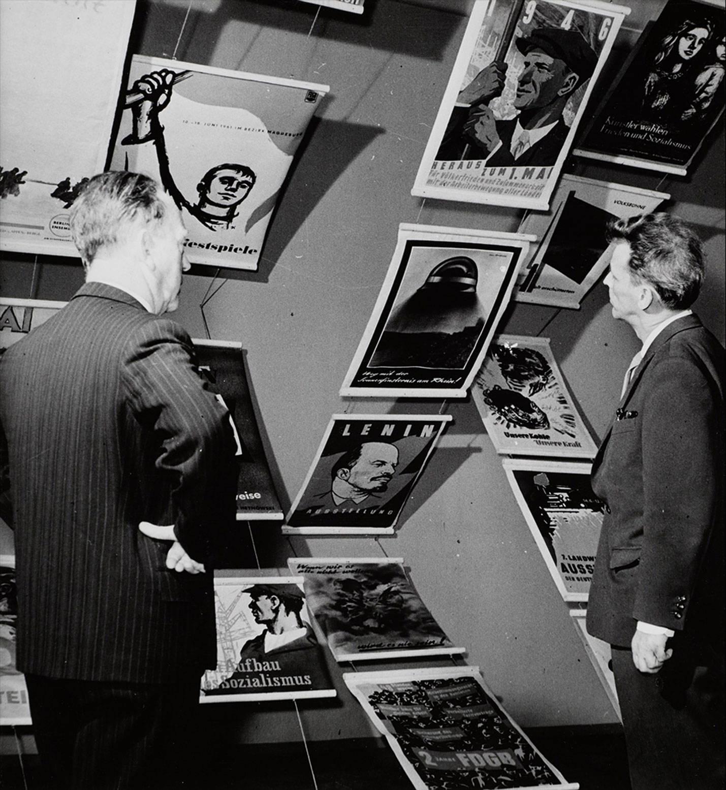 Heartfield-Ausstellung in Moskau 1958