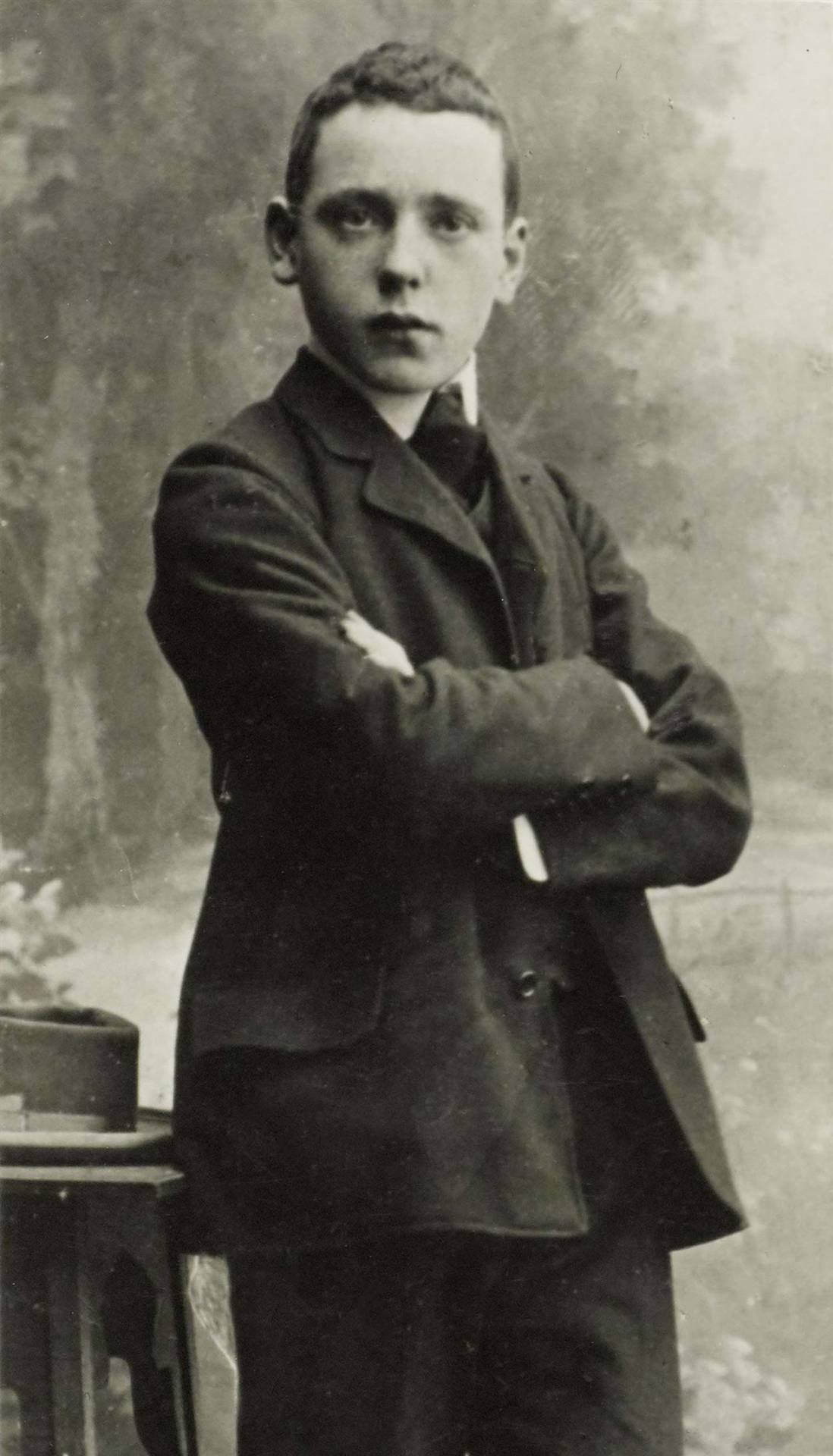Hellmuth Herzfeld in Wiesbaden, um 1906