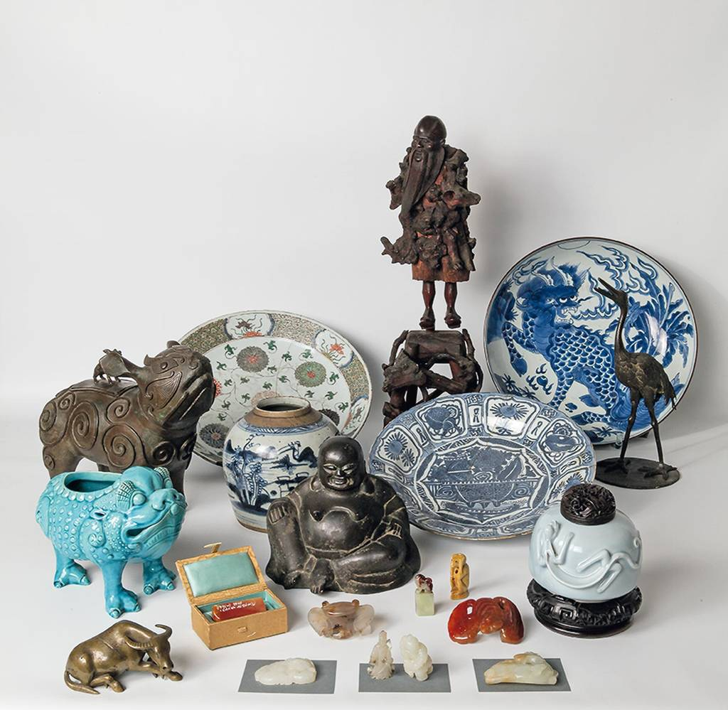 parts of the east asian collection