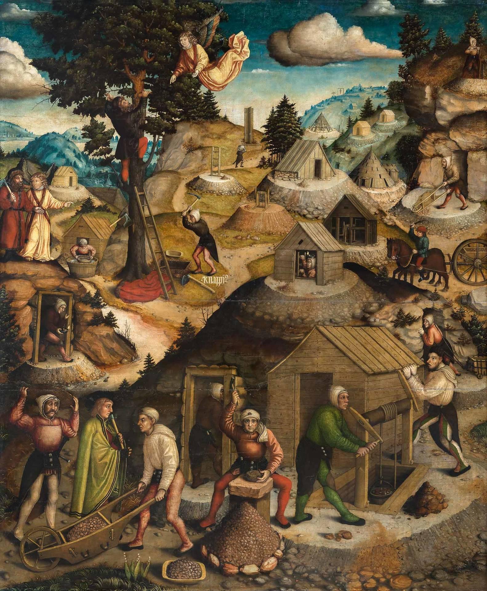 Hans Hesse: Der Annaberger Bergaltar, 1522
