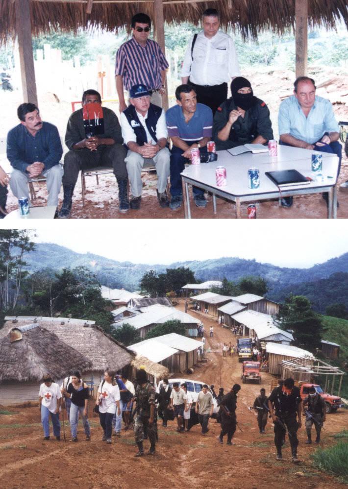 Die Akademie in Person von Direktor Jo Krummacher und Studienleiter Mauricio Salazar begleiten die Freilassung von linksgerichteten Rebellen in Kolumbien
