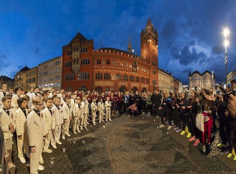 EJCF 2018 Candlelight Singing Marktplatz ©Foto Guido Schärli