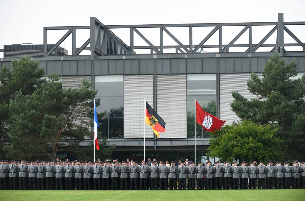 Leutnantsbeförderung an der HSU/UniBw H