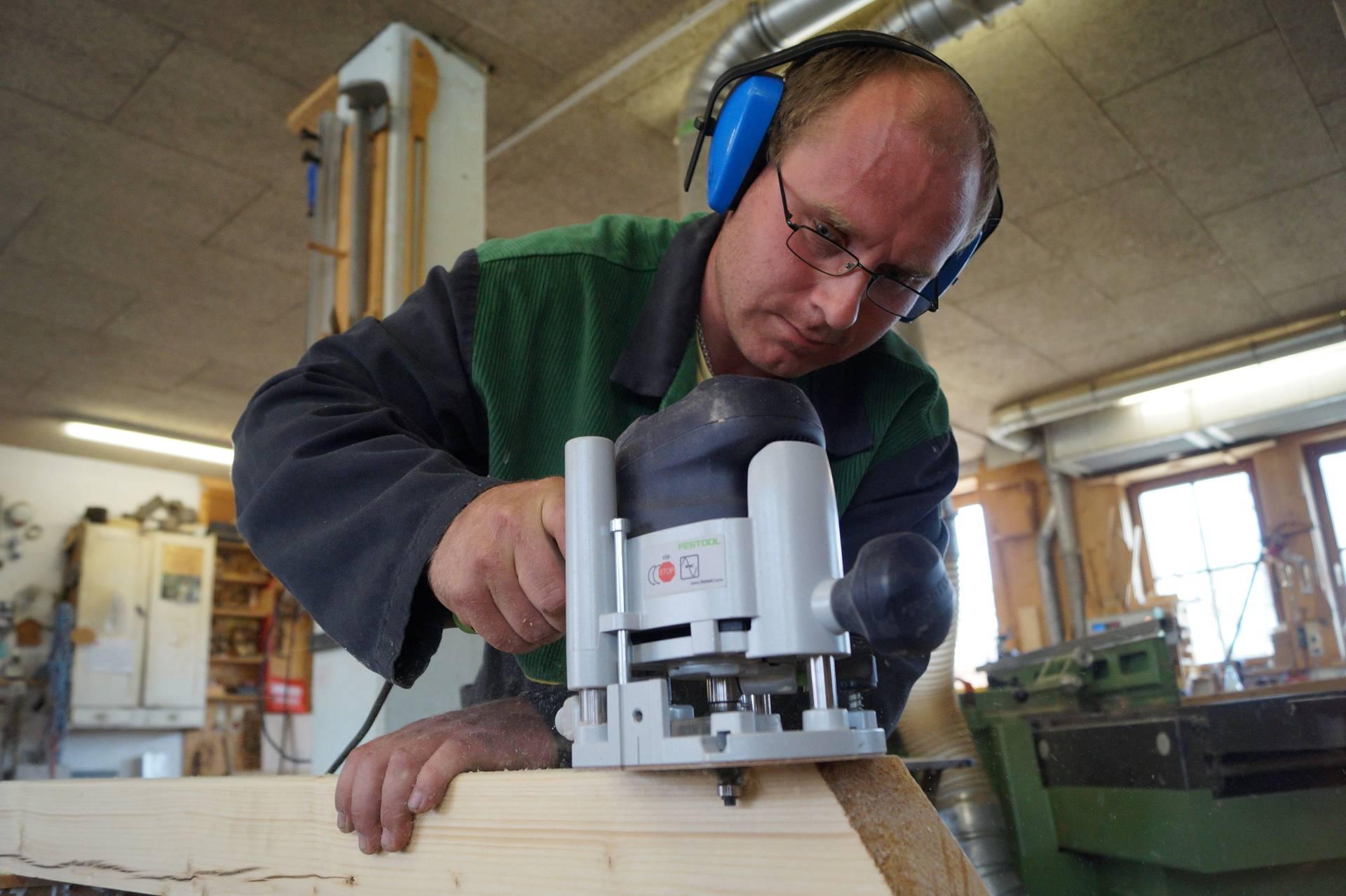 Bernd Moll beendet seine Ausbildung im Juli.