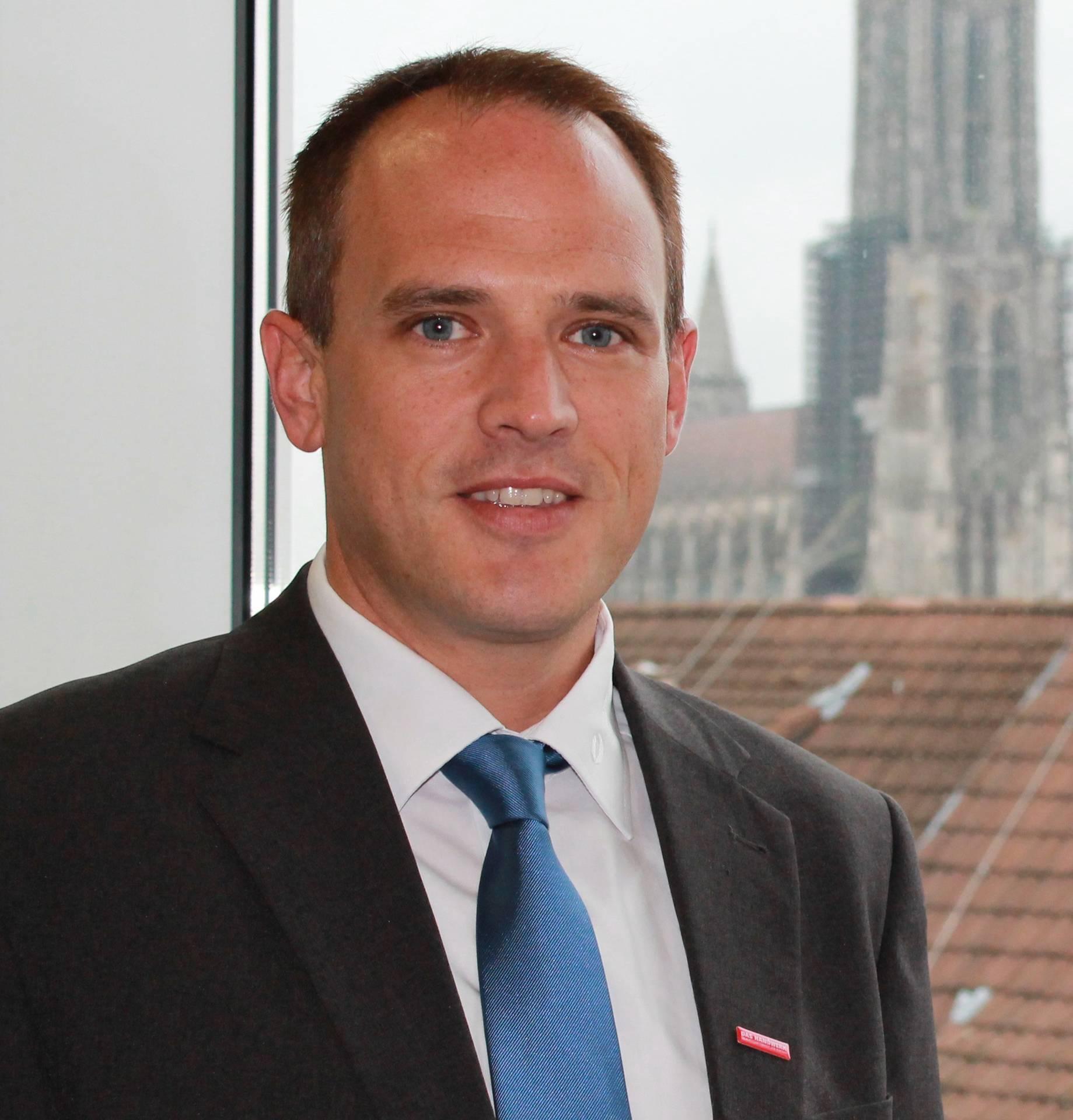 Thomas Gottschalk, Leiter des Zentrums für Betriebsnachfolge (ZEN) der Handwerkskammer Ulm.