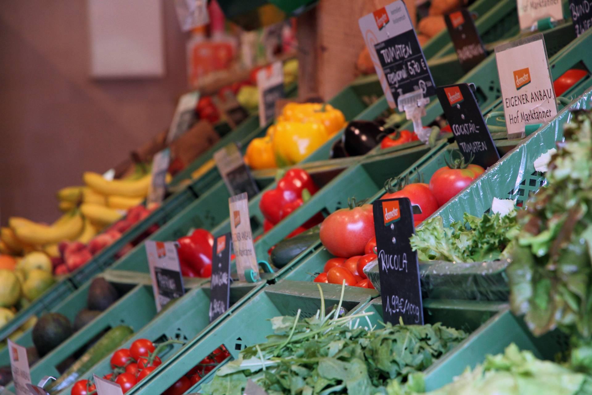 Frisch vom Feld: Öko-Tomaten aus eigenem Anbau der Familie Niessen.