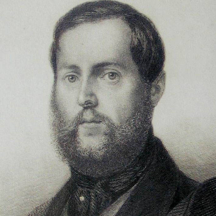 Levin Schücking 1848. Quelle: Wikipedia