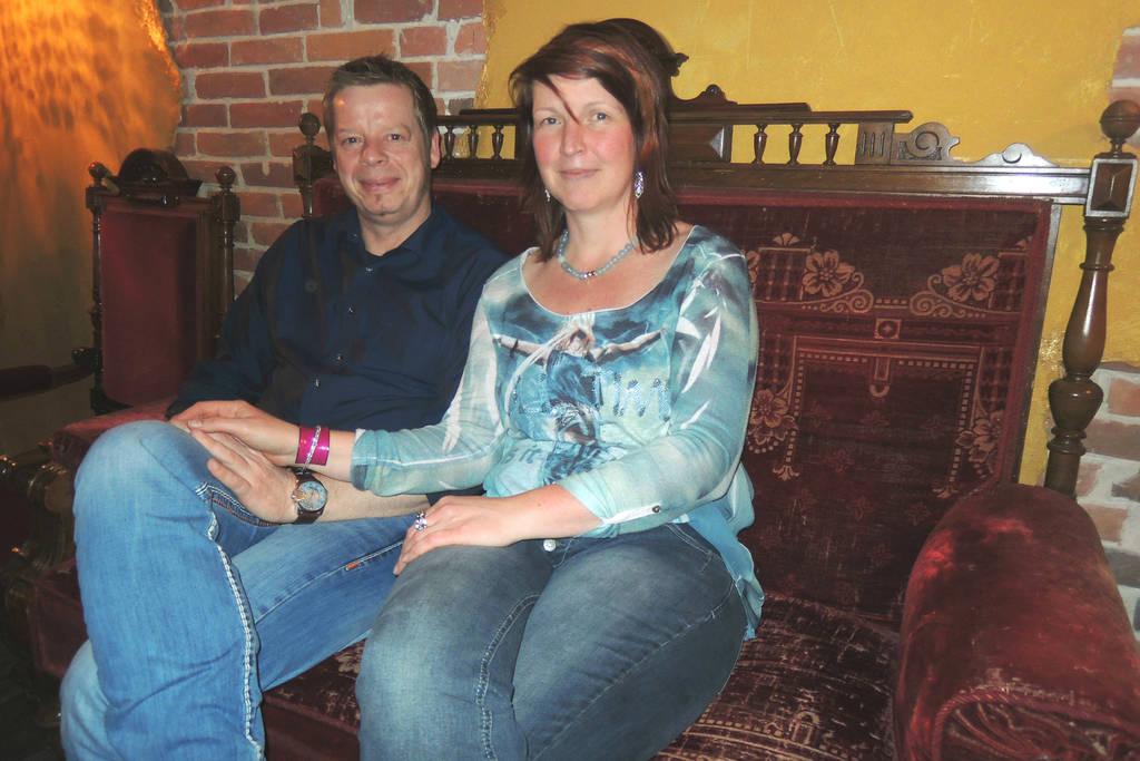 Wollen als Ehrentanz bei ihrer Hochzeit Tango tanzen: Frank Junker und Christel Sibum