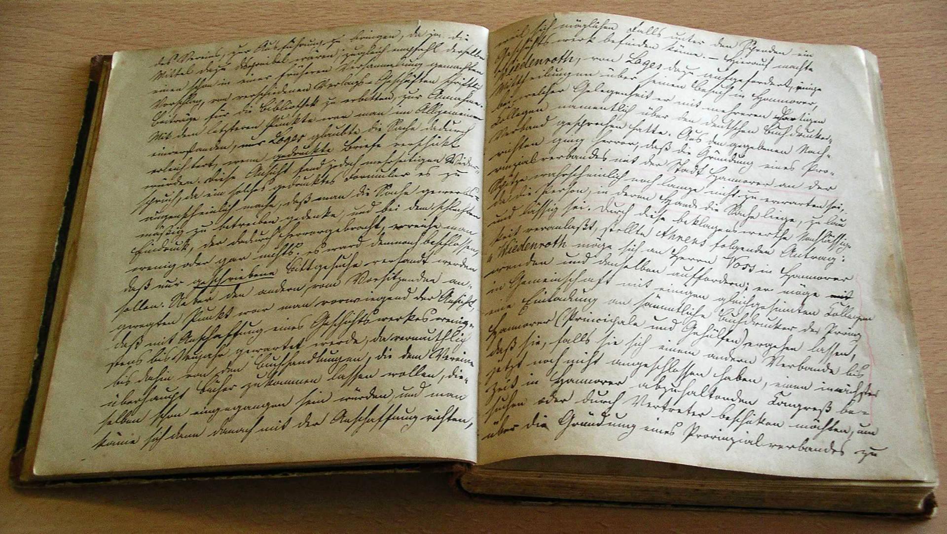 Protokollbuch des Buchdrucker-Vereins Hildesheim von 1863 – das älteste Gewerkschaftsdokument im Archiv der sozialen Demokratie der Friedrich-Ebert-Stiftung