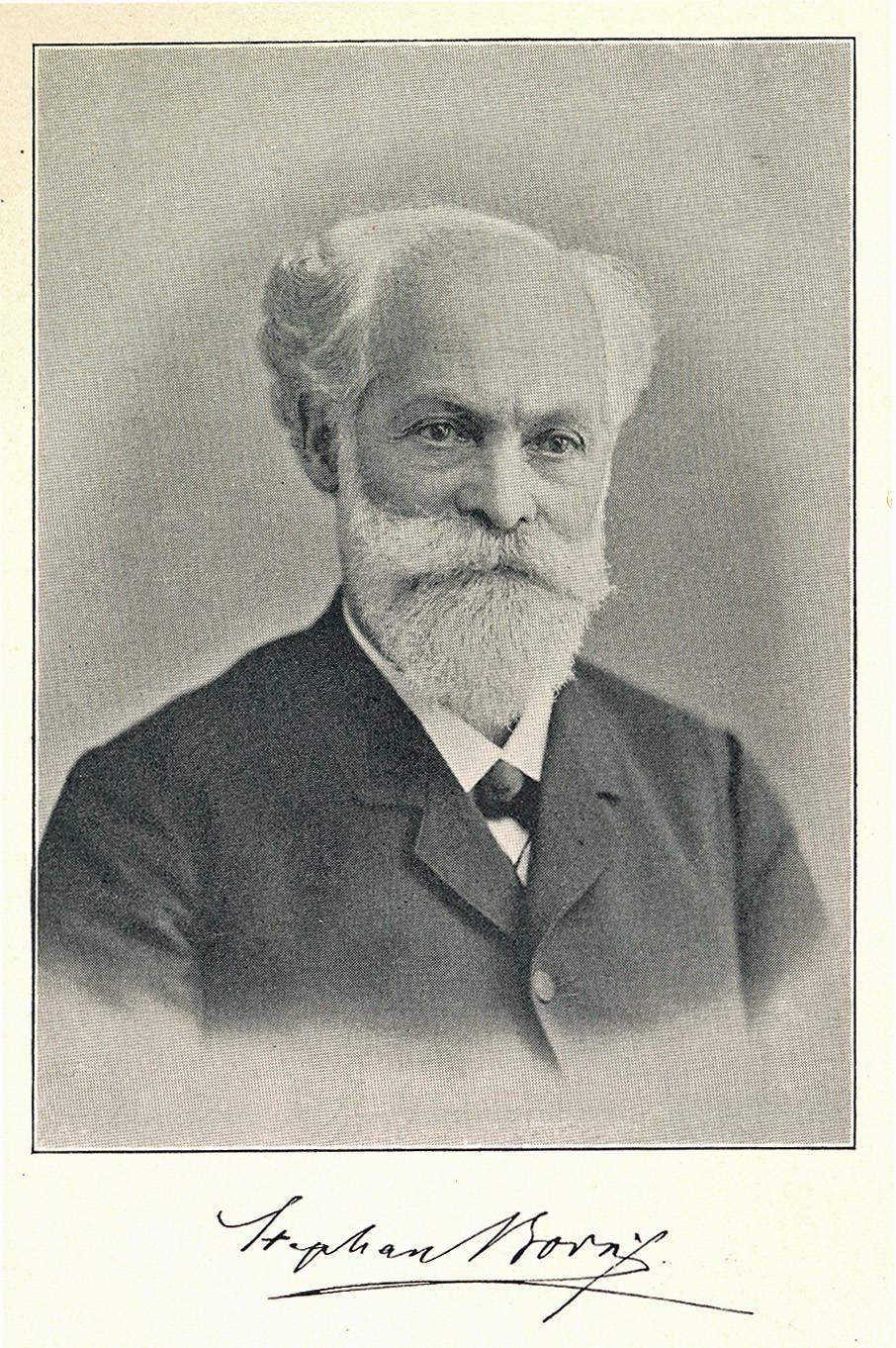 Stefan Born, 1848 im ersten Redaktionskomitee des »Gutenberg« | aus: Stephan Born, Erinnerungen eines Achtundvierziger, 2. Aufl. Leipzig 1989