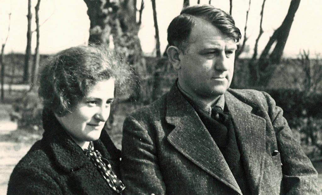 Erich Knauf und seine Frau Erna | Quelle:W. Eckert (Nachlass Erich Knauf)