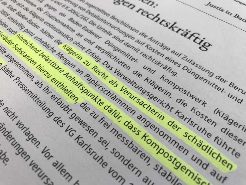 Die Pressemitteilung des Verwaltungsgerichtshofs zur Verurteilung Vogels.