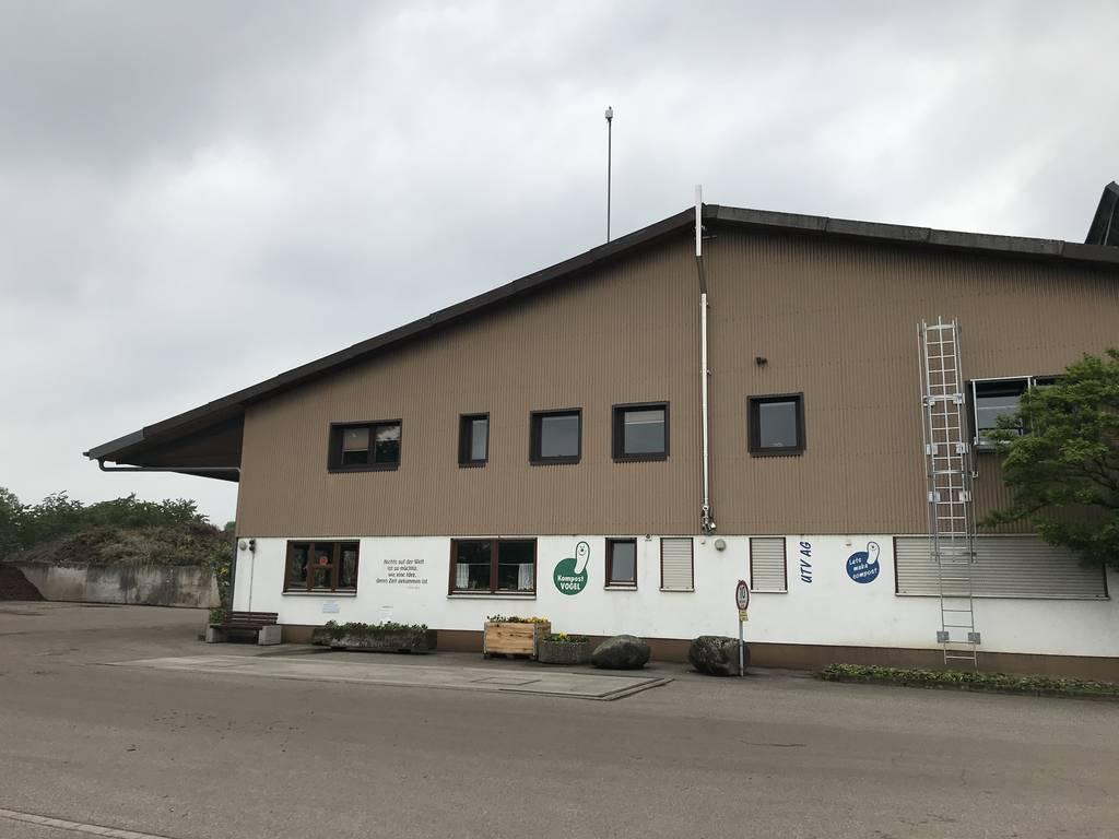 Das Kompostwerk der Firma Vogel in Bühl.