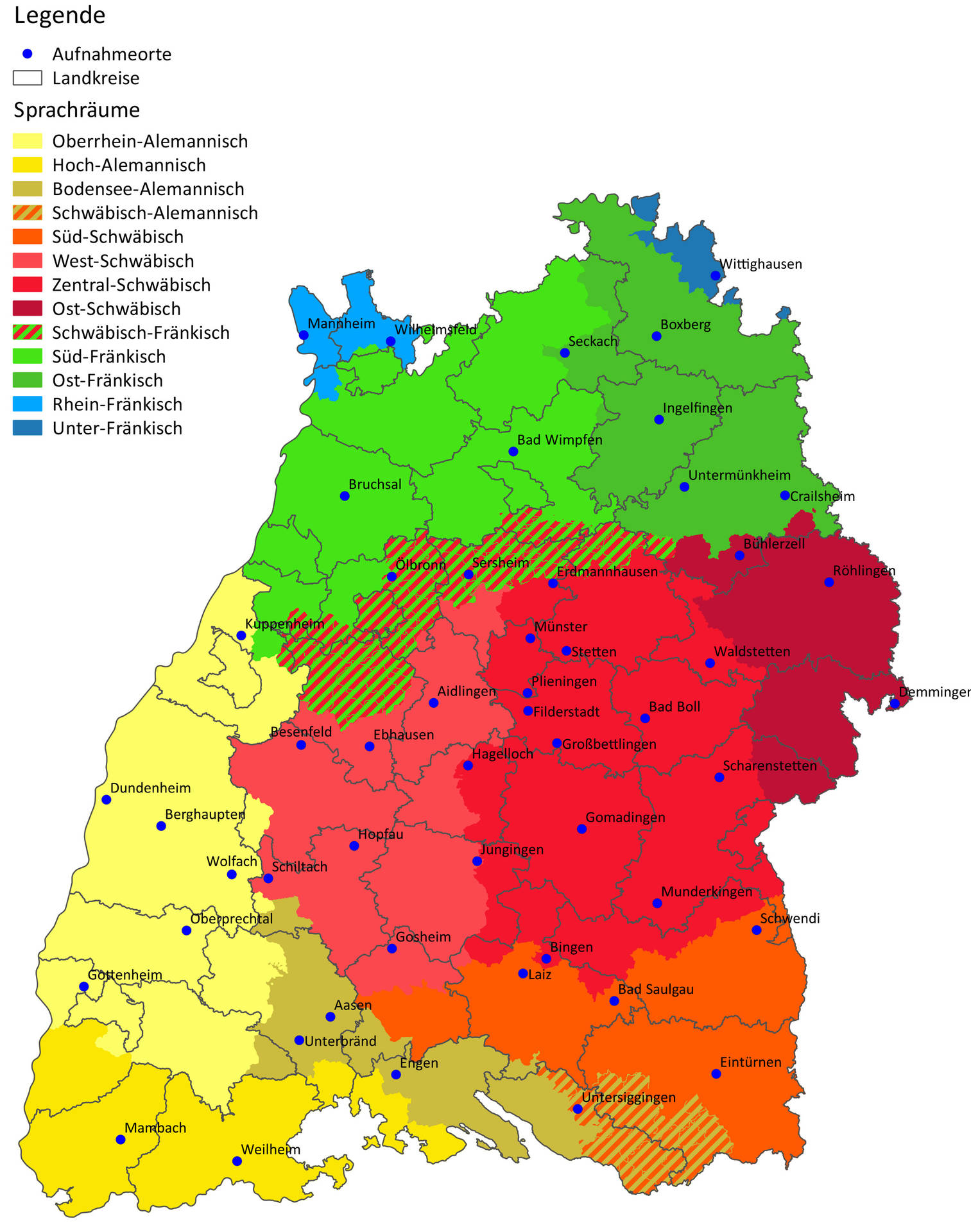 Region Heilbronn Franken Karte.Heilbronn Schwaben Oder Franken