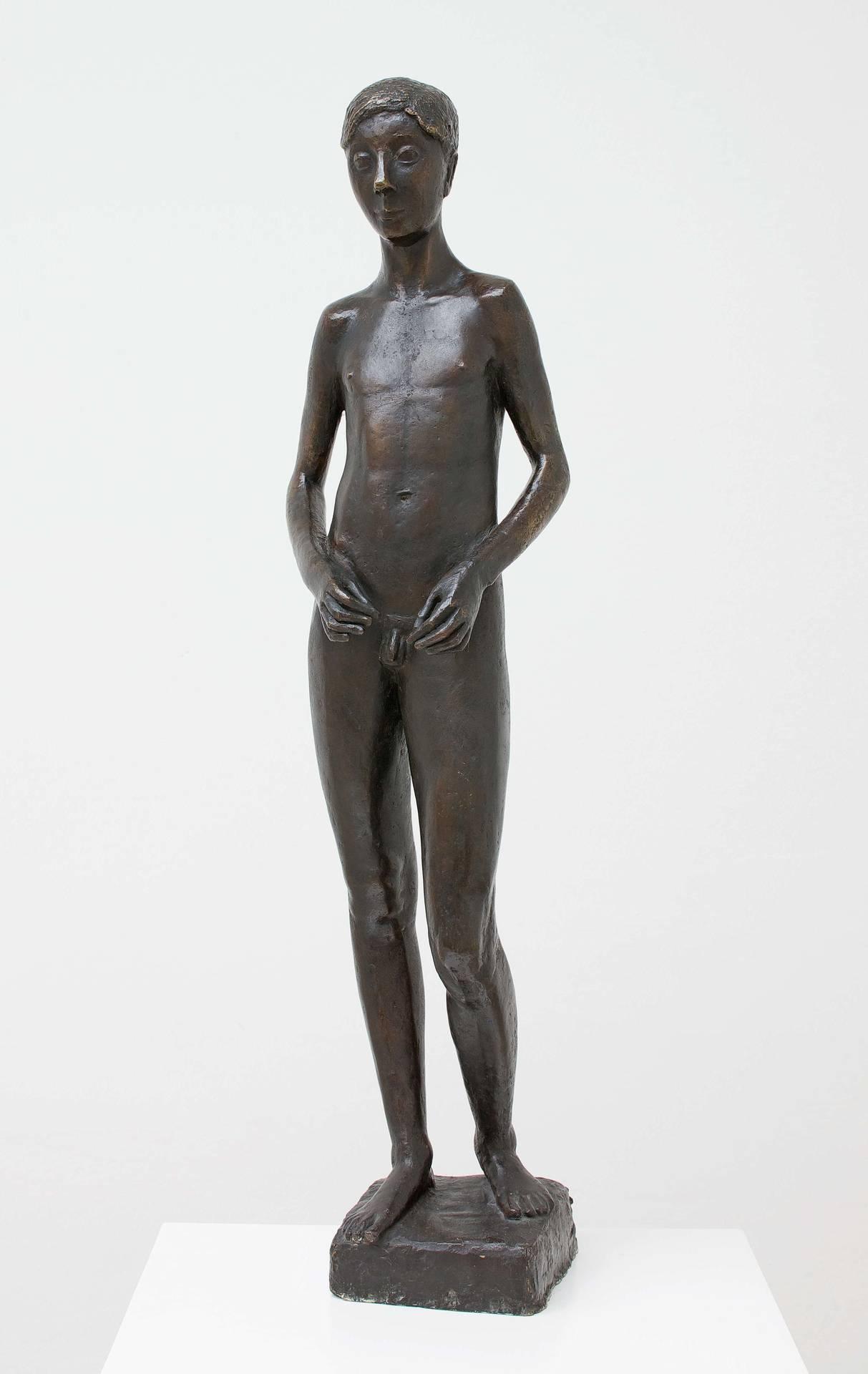 Gerhard Marcks, Johannes, 1936, Bronze, Höhe 96 cm