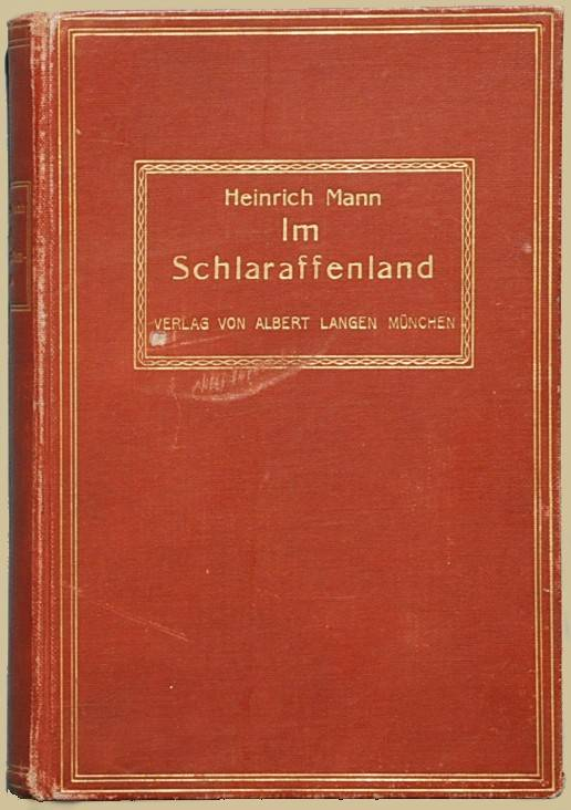 Einband der Erstausgabe, 1900.