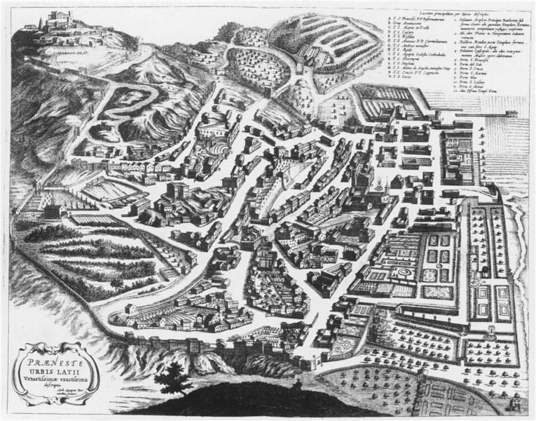 Das hügelige Palestrina: Die Stadt des Kirchenmusikers Giovanni Pierluigi da Palestrina (1525-1594)