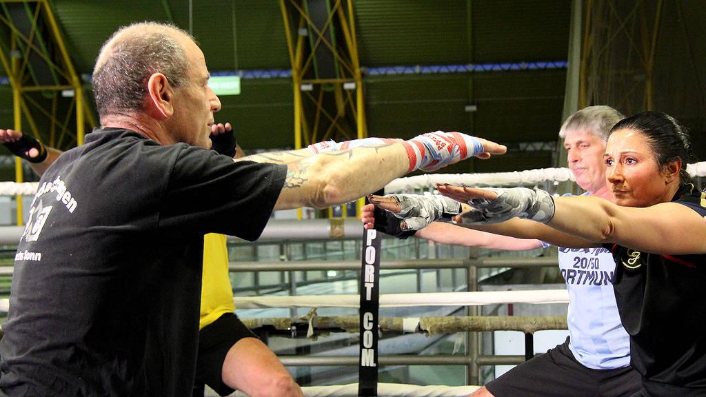 Francesco Solimero ist seit 30 Jahren Boxtrainer