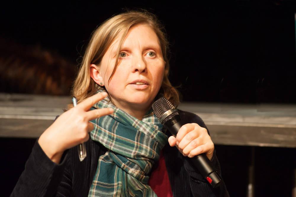 Corinna Rüffer, behindertenpolitische Sprecherin der Bundestagsfraktion von Bündnis 90/Die Grünen