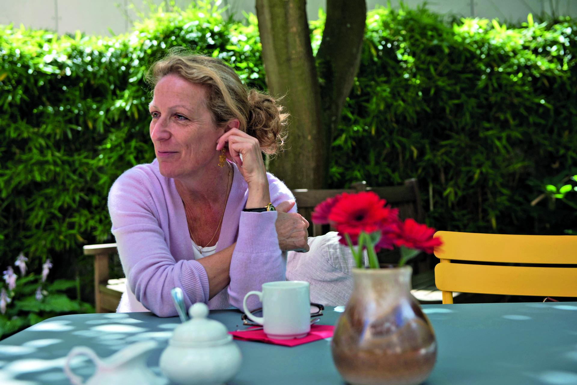 Froh über das Pflegeheim für ihren Vater: Julia Büchsenmann.