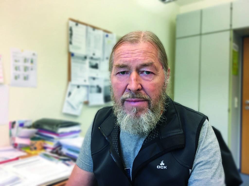 Klaus Gläser ist Sozialberater in der Diakoniestation Wilhelmsburg