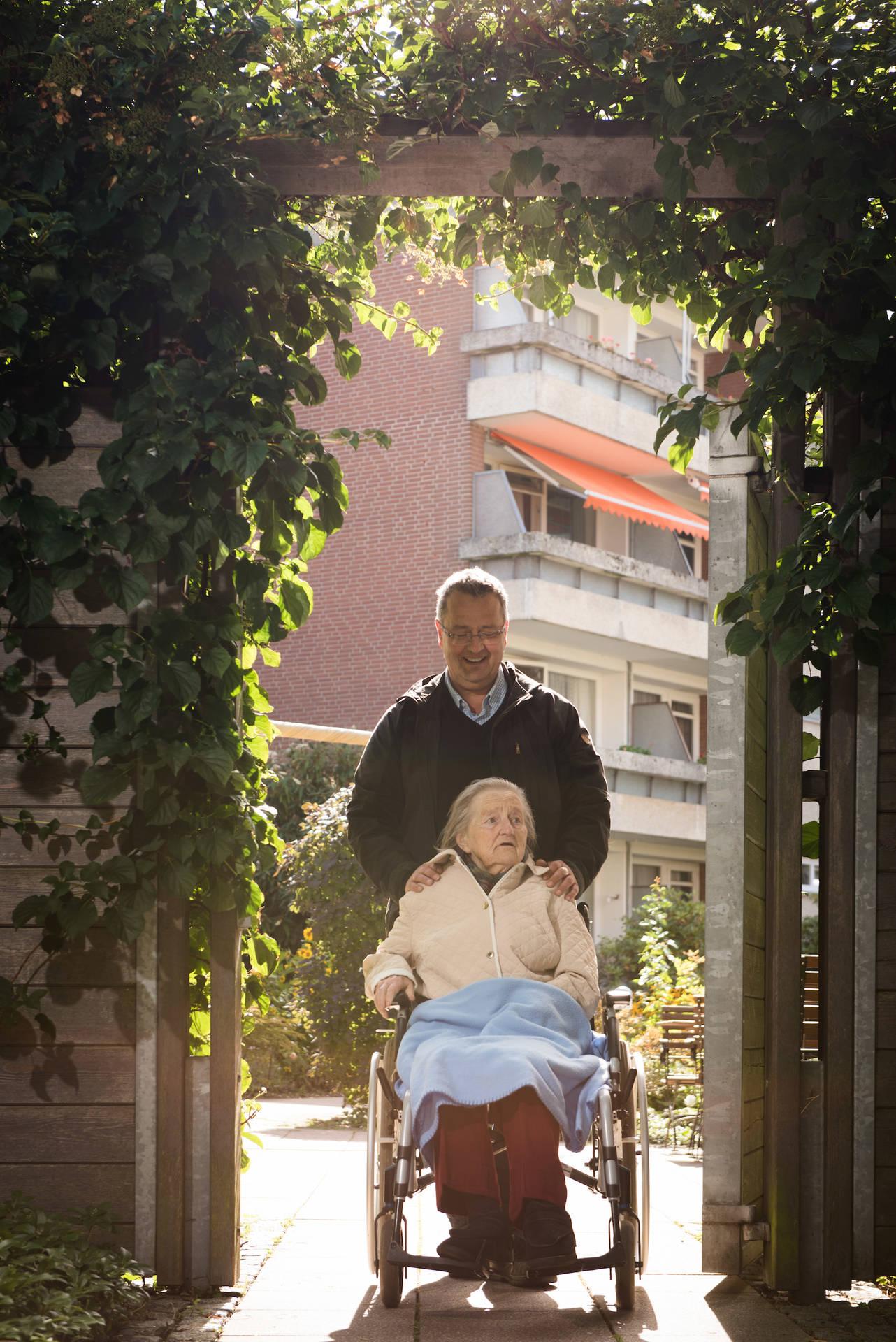 Weiß seine Mutter gut aufgehoben im Hospital zum Heiligen Geist: Wolfgang Gutzeit