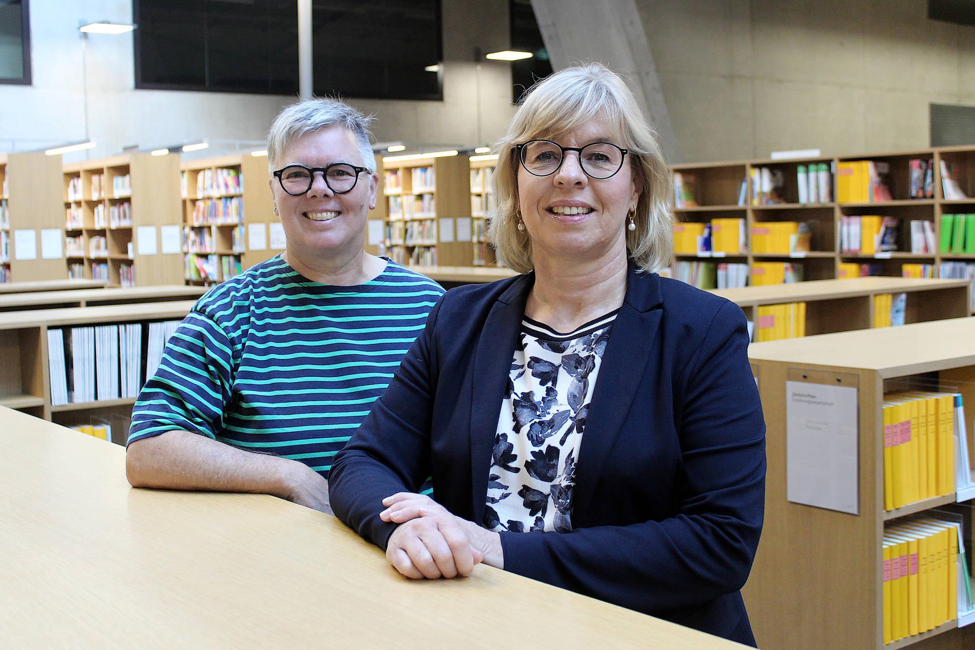 Doris Edelmann (rechts) und Evelyne Wannack sind die Projektleiterinnen der PHBern.