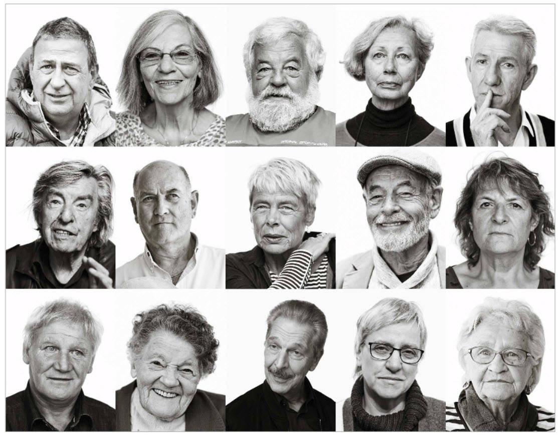 Bildquelle: Ammann, Ruth; Huonker, Thomas; Schmid, Jos: «Gesichter der administrativen Versorgung» / Porträts von Betroffenen /  Zürich 2019 (Veröffentlichung der Unabhängigen Expertenkommission Administrative Versorgungen, Band 1)