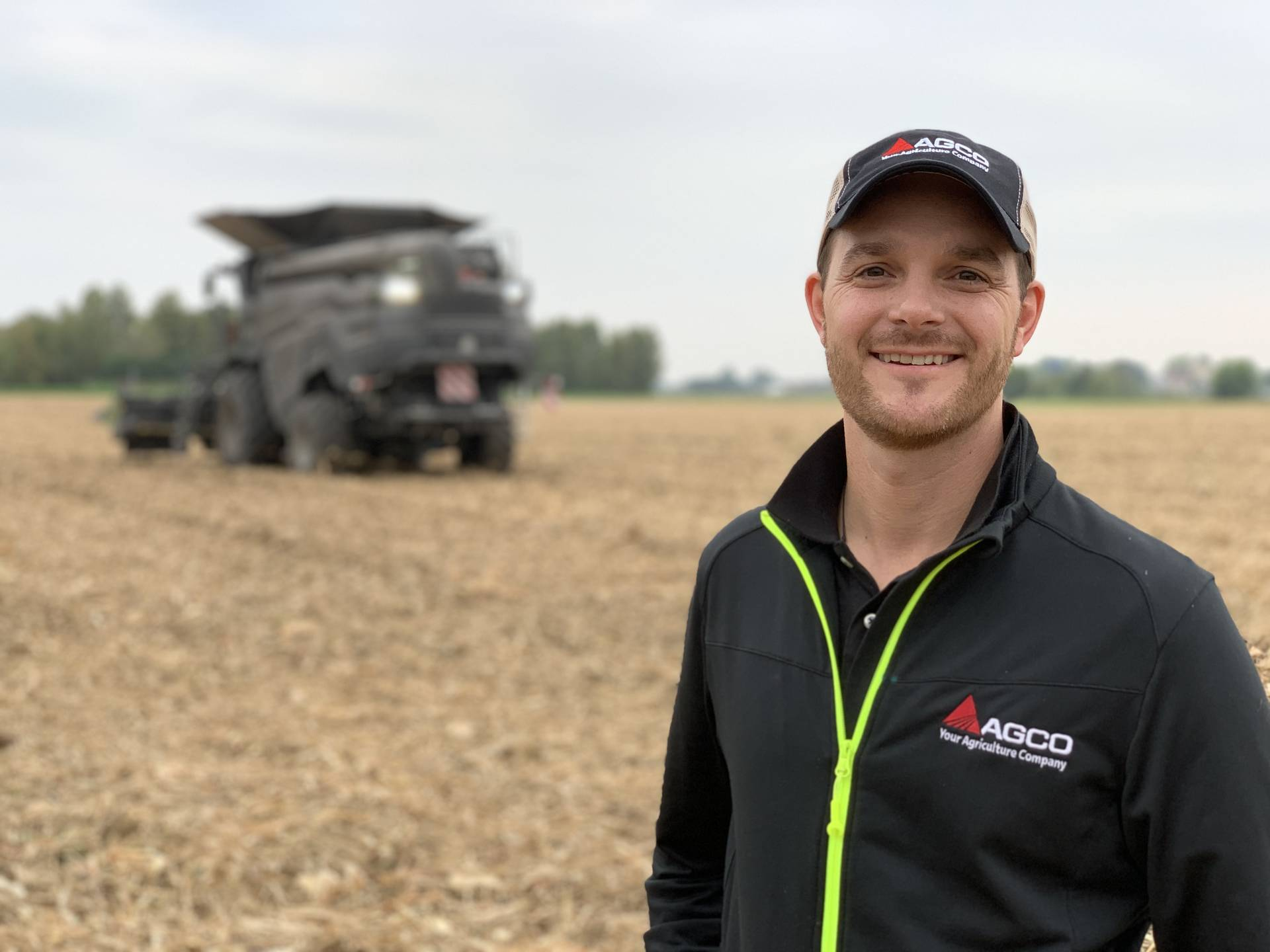 """With joystick steering, farmers always know what goes on in front of them. So, they can pay more attention to other things.This is key because it affects productivity,"""" says Brandon Montgomery, Senior Marketing Manager, AGCO."""