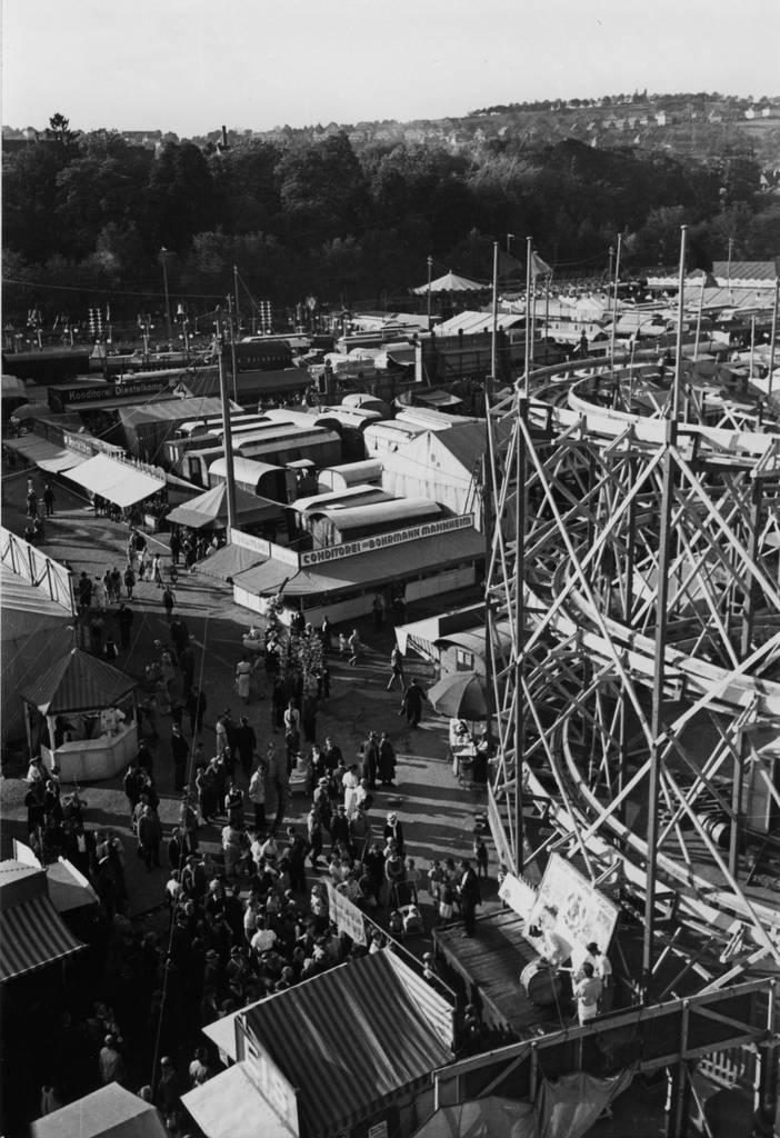 Die Mess in der Oststadt im Jahr 1940. Foto: Stadtarchiv