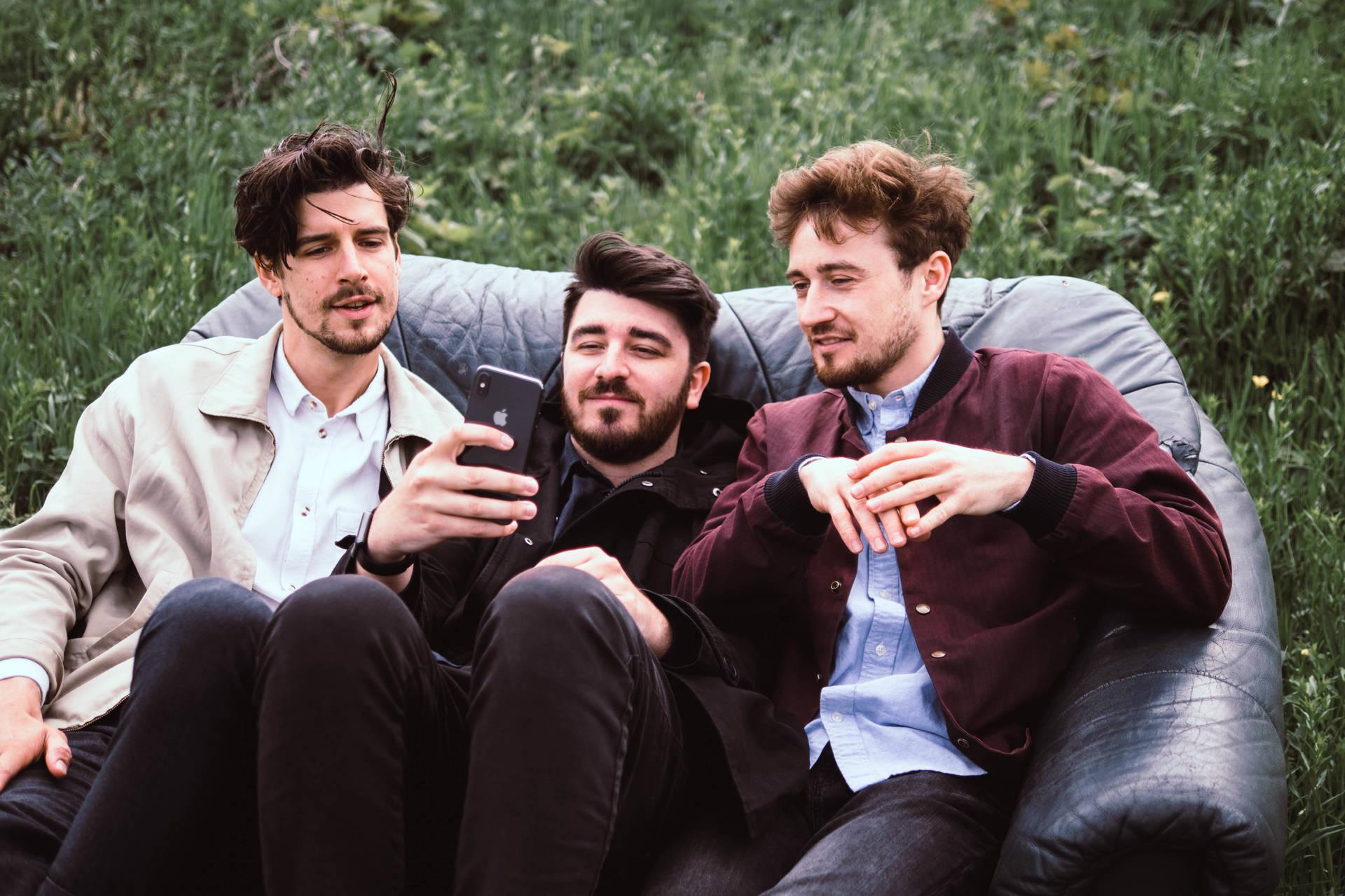 Das Groovecat-Dream-Team: Markus Schwarzer, Joshua Weikert und Jakob Höflich