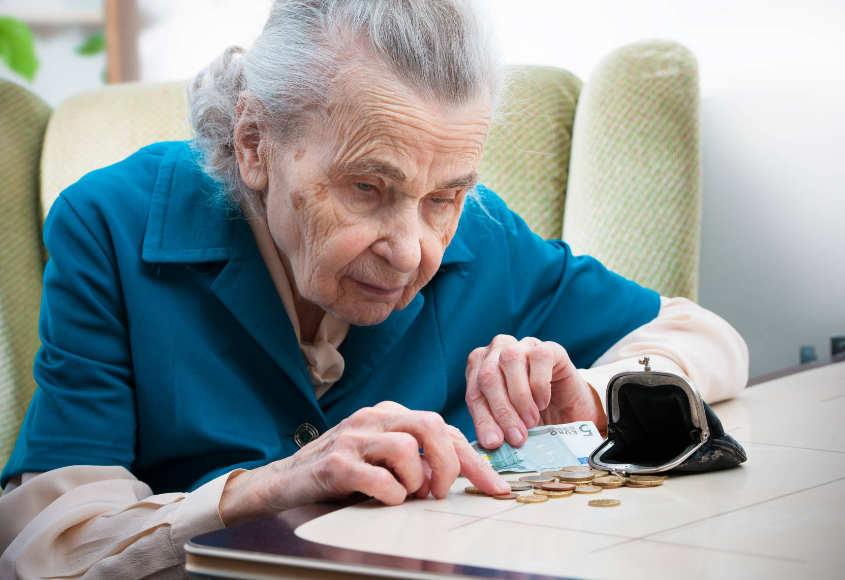 Altersarmut betrifft oft Frauen