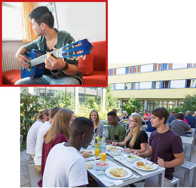 Salesianum: jungen Menschen eine Heimat auf Zeit geben.