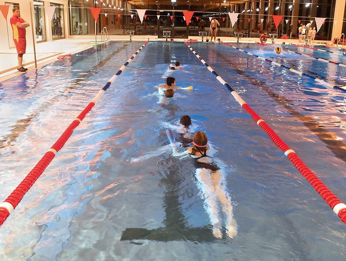 Seit Anfang 2018 findet An der Lache wieder Schwimmausbildung statt